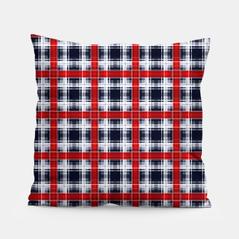 Thumbnail image of Seamless checkered plaid pattern tartan background Pillow, Live Heroes