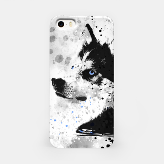 Thumbnail image of Husky Portrait iPhone-Hülle, Live Heroes