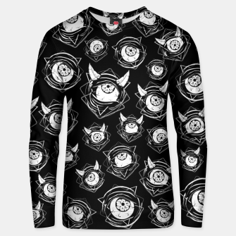 Thumbnail image of Evil Eyes Unisex sweater, Live Heroes