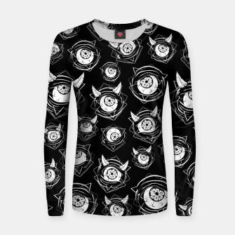 Thumbnail image of Evil Eyes Women sweater, Live Heroes