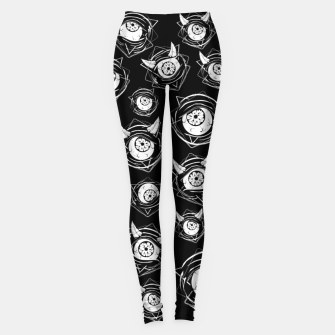 Thumbnail image of Evil Eyes Leggings, Live Heroes