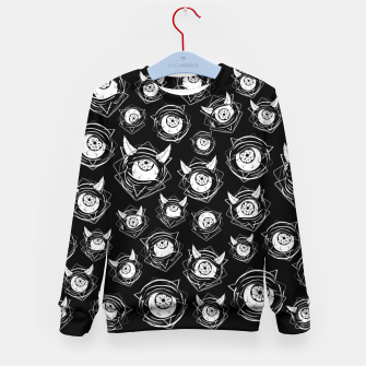 Thumbnail image of Evil Eyes Kid's sweater, Live Heroes