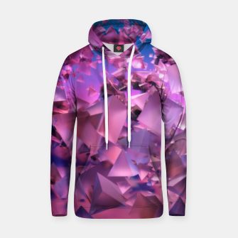 Thumbnail image of Pink Flying Triangles Hoodie, Live Heroes