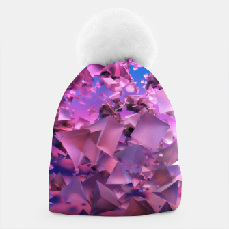 Thumbnail image of Pink Flying Triangles Beanie, Live Heroes