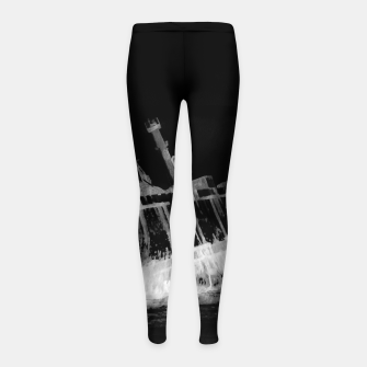 Thumbnail image of shipwreck aqrebwi Girl's leggings, Live Heroes