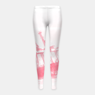 Thumbnail image of shipwreck aqrepw Girl's leggings, Live Heroes