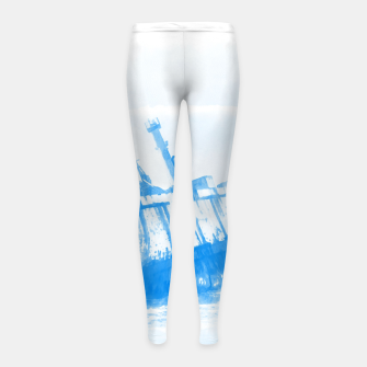 Thumbnail image of shipwreck aqrewb Girl's leggings, Live Heroes
