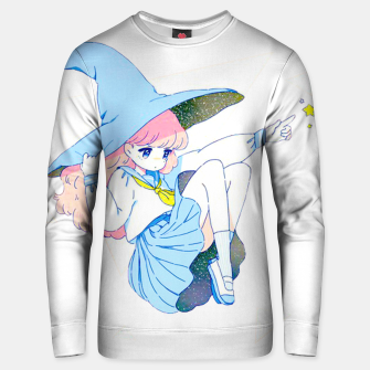 Thumbnail image of Witch in the sky Unisex sweater, Live Heroes