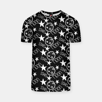 Thumbnail image of stars and moon T-shirt, Live Heroes