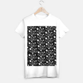 Thumbnail image of stars and moon T-shirt regular, Live Heroes