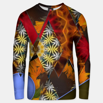 Thumbnail image of Sunflower Collage Unisex sweater, Live Heroes