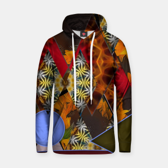 Thumbnail image of Sunflower Collage Hoodie, Live Heroes