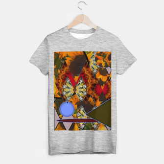 Thumbnail image of Sunflower Collage T-shirt regular, Live Heroes