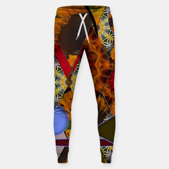 Thumbnail image of Sunflower Collage Sweatpants, Live Heroes