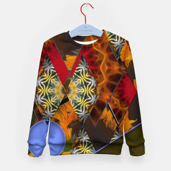 Thumbnail image of Sunflower Collage Kid's sweater, Live Heroes