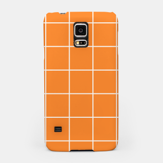 Thumbnail image of Grid on turmeric Samsung Case, Live Heroes