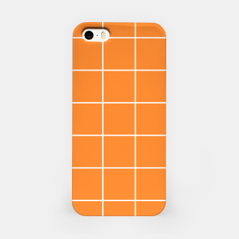 Thumbnail image of Grid on turmeric iPhone Case, Live Heroes