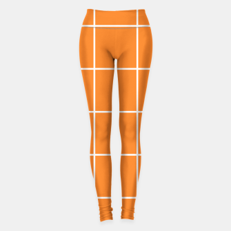 Thumbnail image of Grid on turmeric Leggings, Live Heroes