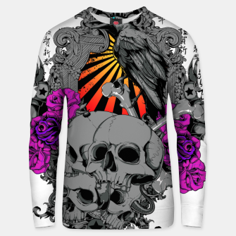 Thumbnail image of ASIAN SUN SKULLS Unisex sweater, Live Heroes