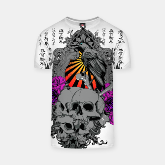 Thumbnail image of ASIAN SUN SKULLS T-shirt, Live Heroes