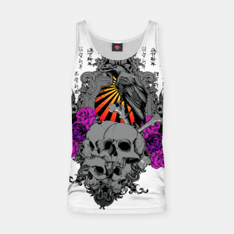 Thumbnail image of ASIAN SUN SKULLS Tank Top, Live Heroes