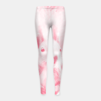 Thumbnail image of squirrel digital oil paint doppw Girl's leggings, Live Heroes