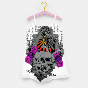 Thumbnail image of ASIAN SUN SKULLS Girl's dress, Live Heroes