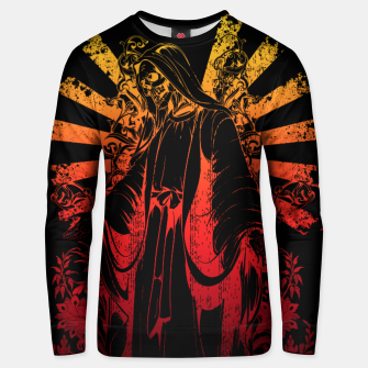 Thumbnail image of KEEPER SKULL Unisex sweater, Live Heroes