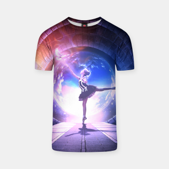 Thumbnail image of Dancer T-shirt, Live Heroes