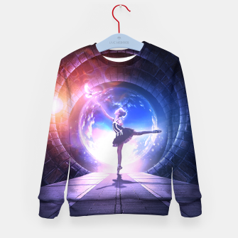 Thumbnail image of Dancer Kid's sweater, Live Heroes