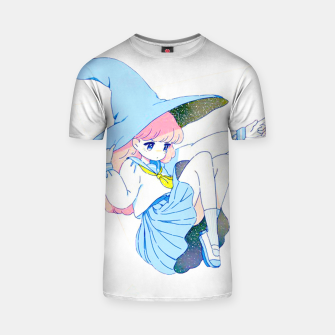 Thumbnail image of Witch in the sky T-shirt, Live Heroes