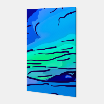 Thumbnail image of abstract style aurora borealis absstd Canvas, Live Heroes