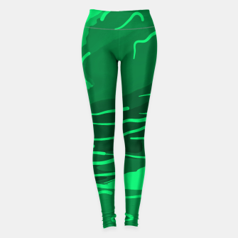 Thumbnail image of abstract style aurora borealis absmagi Leggings, Live Heroes