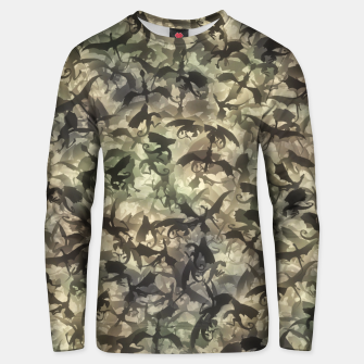 Thumbnail image of Dragons camouflage Unisex sweater, Live Heroes