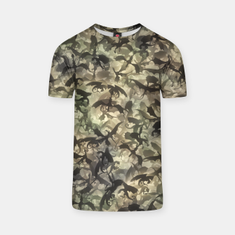 Miniatur Dragons camouflage T-shirt, Live Heroes
