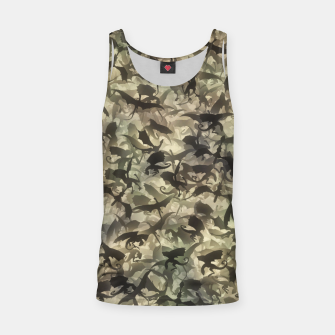 Miniatur Dragons camouflage Tank Top, Live Heroes