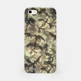 Thumbnail image of Dragons camouflage iPhone Case, Live Heroes