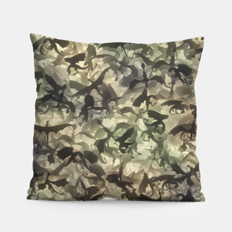 Thumbnail image of Dragons camouflage Pillow, Live Heroes