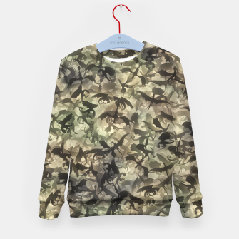 Thumbnail image of Dragons camouflage Kid's sweater, Live Heroes