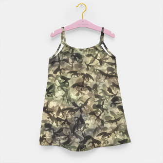 Thumbnail image of Dragons camouflage Girl's dress, Live Heroes