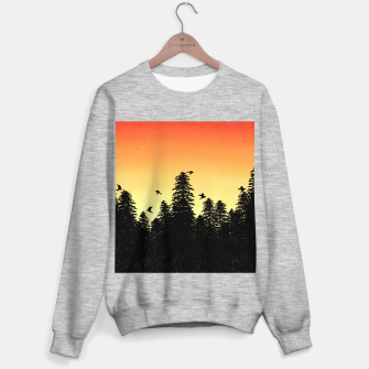 Night Forest Sweater regular Bild der Miniatur
