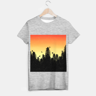 Night Forest T-shirt regular Bild der Miniatur