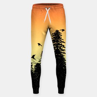 Night Forest Sweatpants Bild der Miniatur
