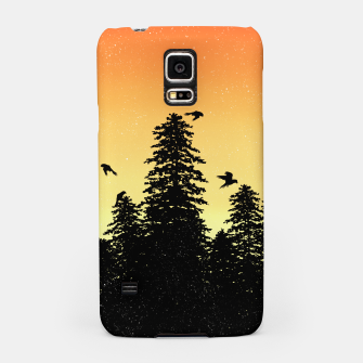 Night Forest Samsung Case Bild der Miniatur