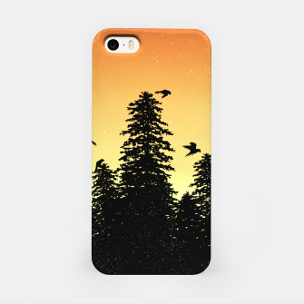 Night Forest iPhone Case Bild der Miniatur