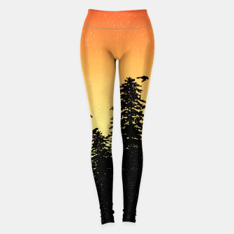 Night Forest Leggings Bild der Miniatur