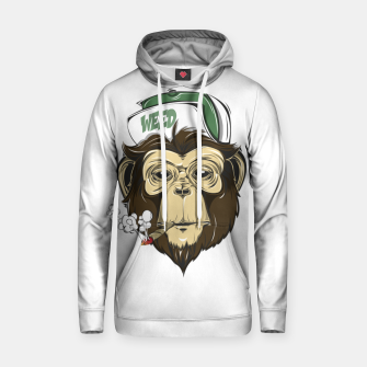 Thumbnail image of Roll one Smoke one, Even Monkeys Loves Weed Hoodie, Live Heroes