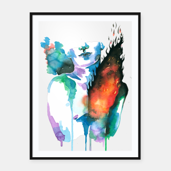 Thumbnail image of phoenix Framed poster, Live Heroes