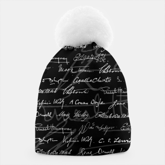 Literary Giants Signatures Pattern Beanie thumbnail image