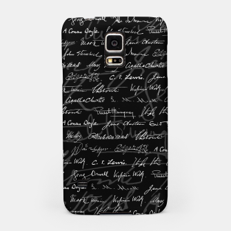 Literary Giants Signatures Pattern Samsung Case thumbnail image